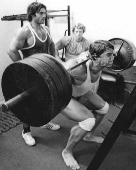 Arnold Squat Workout